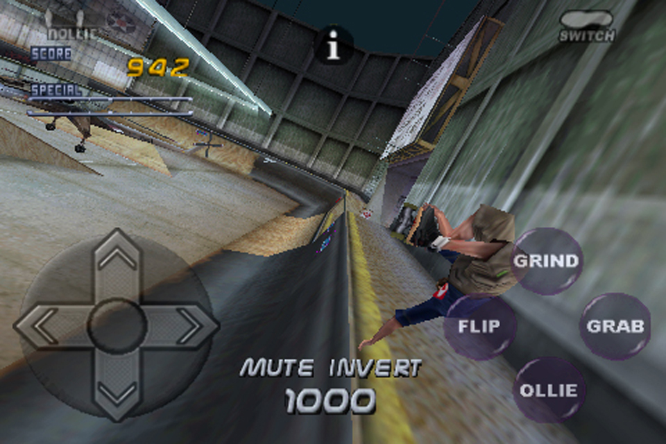 Screenshot Tony Hawk&#8217;s Pro Skater 2